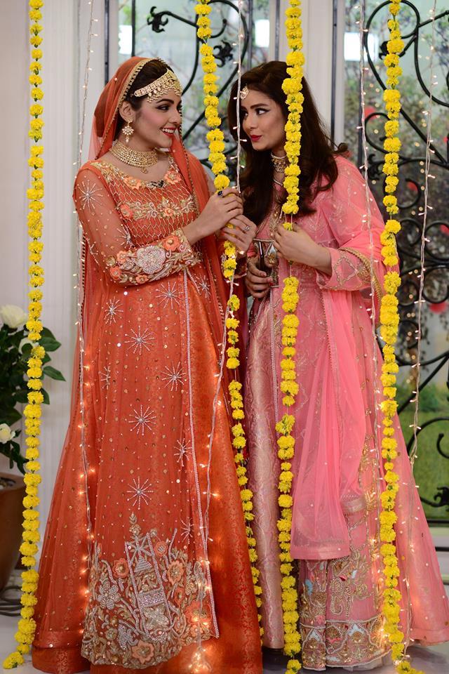 Actress Esha Noor Wedding in Nida Yasir Morning Show