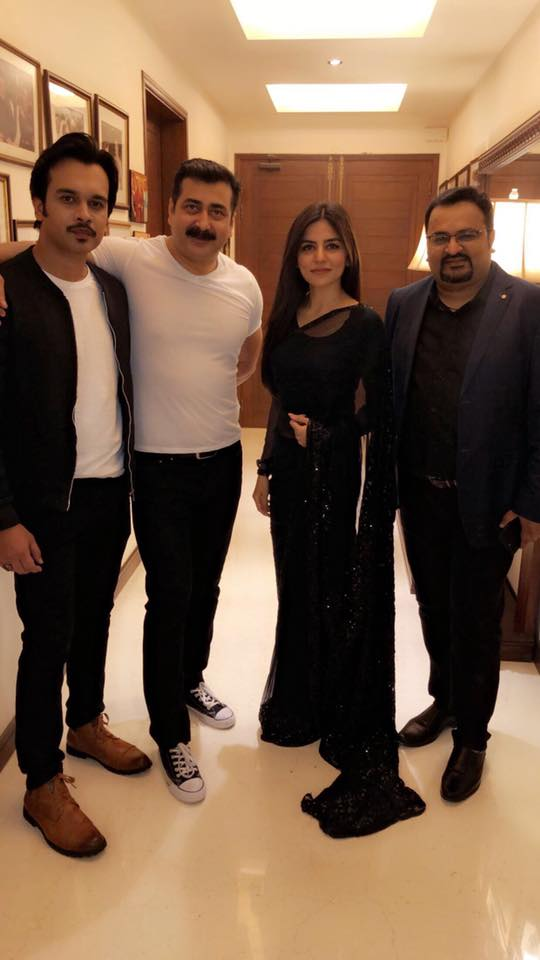 Celebrities at a Grand Musical Party Last Night