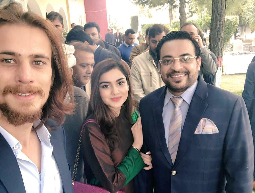 New Photos of Amir Liaquat with his Second Wife Syeda Tuba