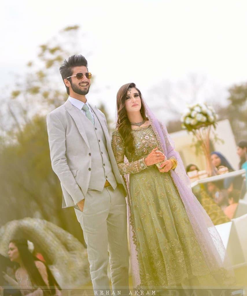 Awesome Wedding Reception Photos of Singer Abdullah Qureshi