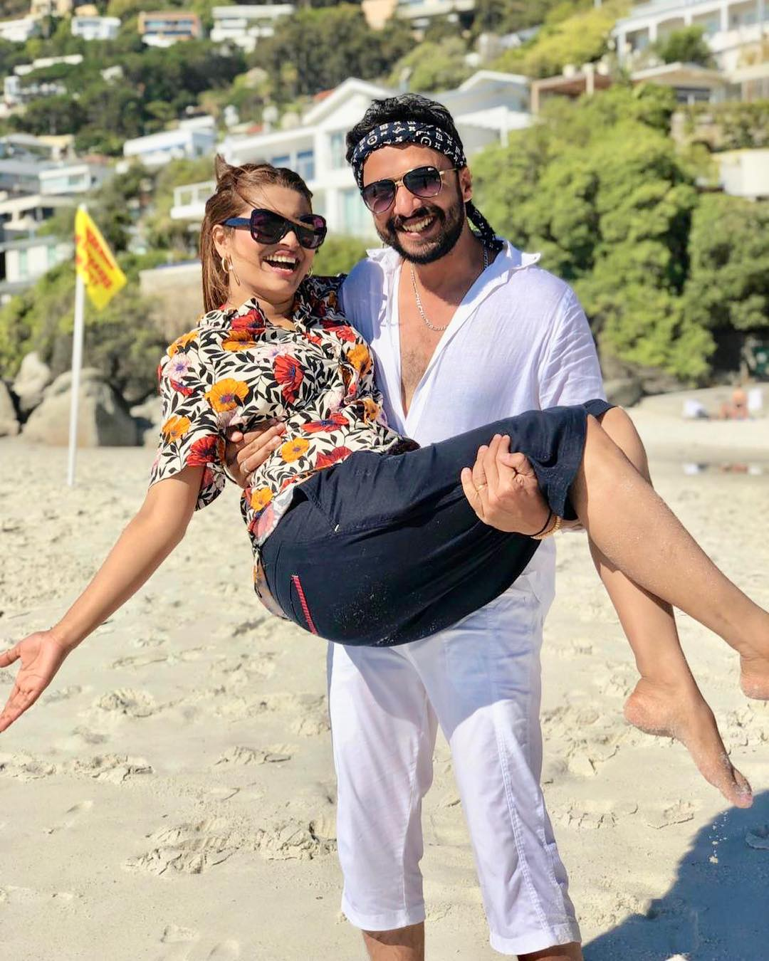 New Awesome Photos of Benita David with her Husband in South Africa