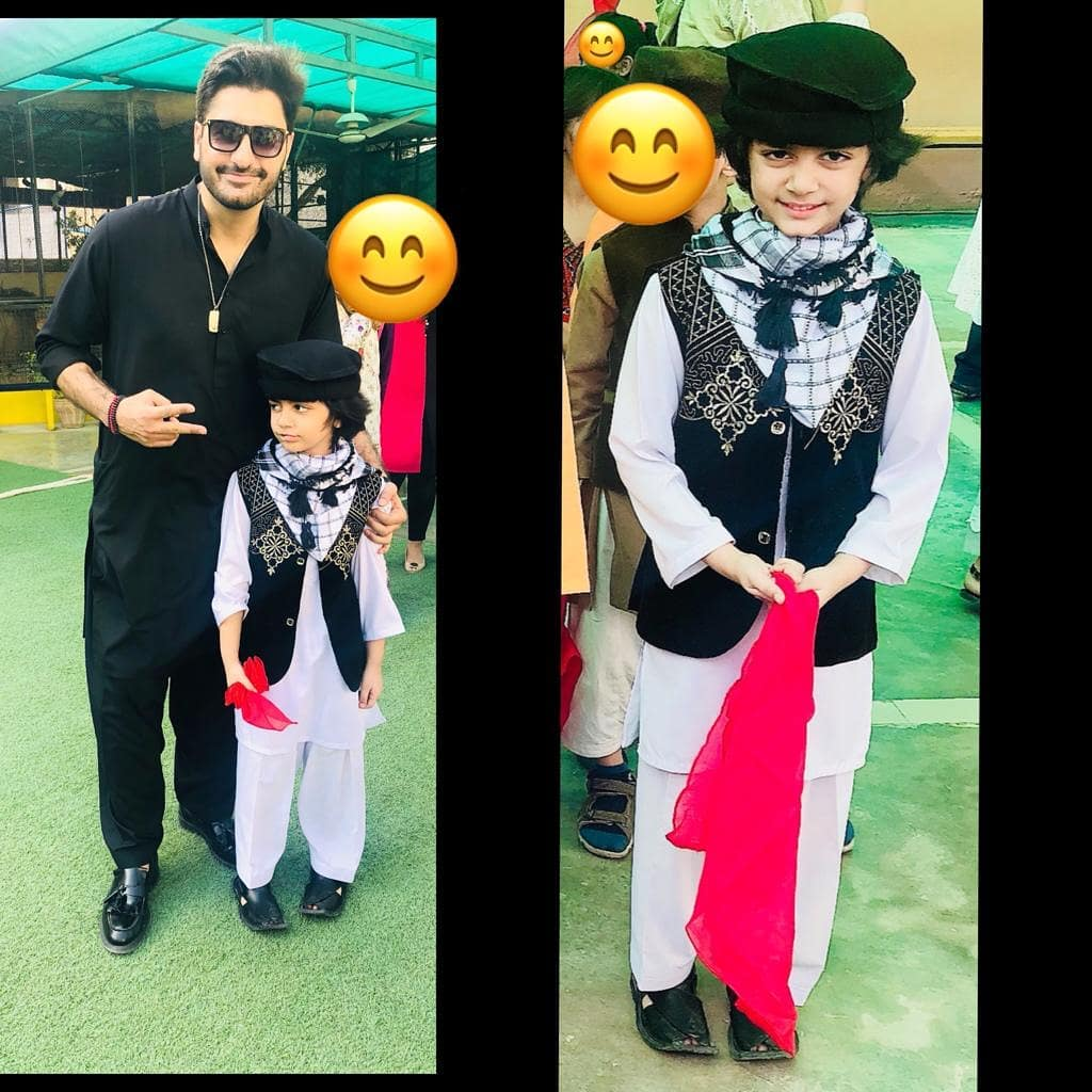 Awesome New Photos of Syed Jibran and Afifa Jibran with their Kids