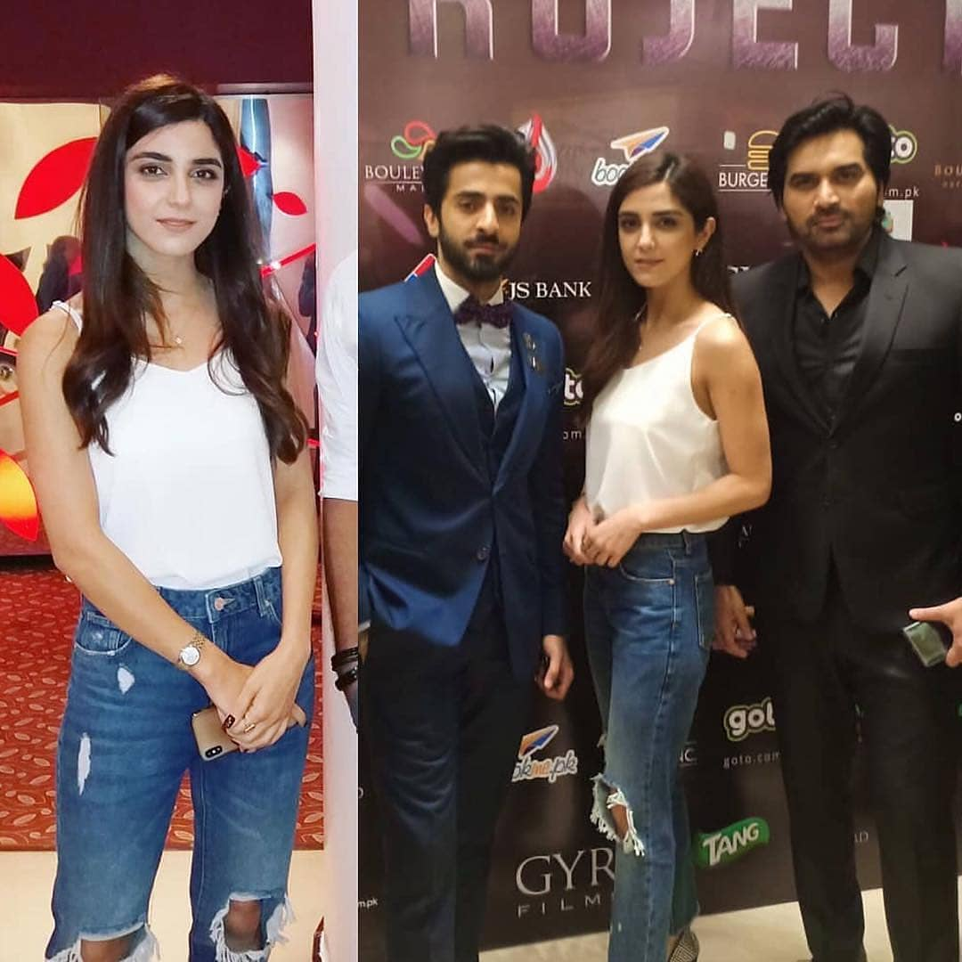 Celebrities at the Premier of Movie Project Ghazi