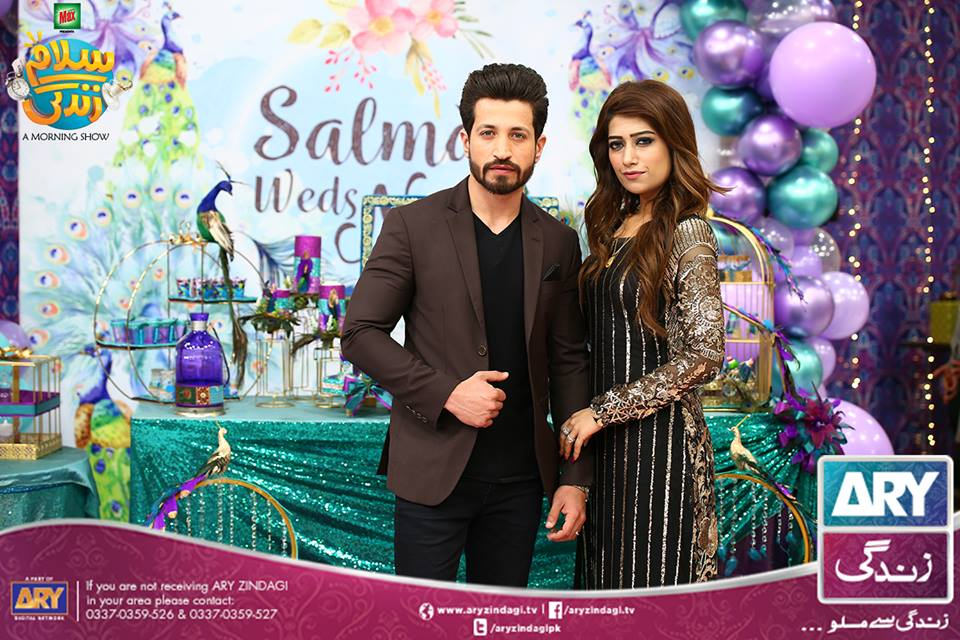 Saba Faisal with her Family in Faysal Qureshi Morning Show