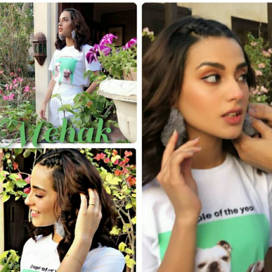 New Photos and Videos of Iqra Aziz on the Set of Suno Chanda 2
