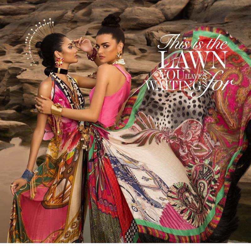 Stylish Crimson X Republic lawn For Yr 2019 collection For Ladies with Price