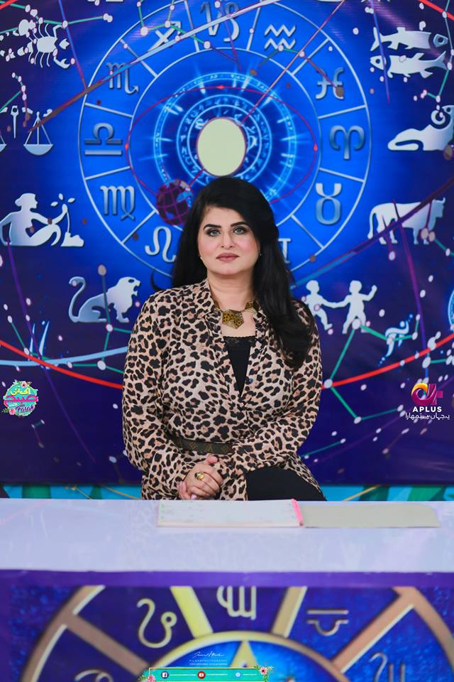 Shabir Jan with his Wife Fareeda in Farah Sadya Morning Show