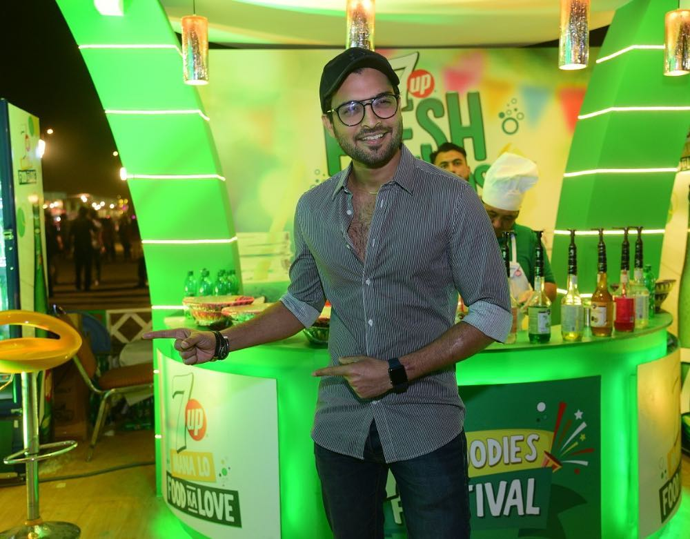 Awesome Photos of Celebrities at 7up Food Festival
