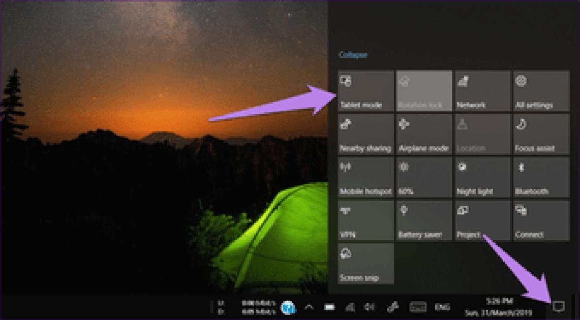 Windows 10 Tablet Mode Tips Tricks Hidden Features 1A