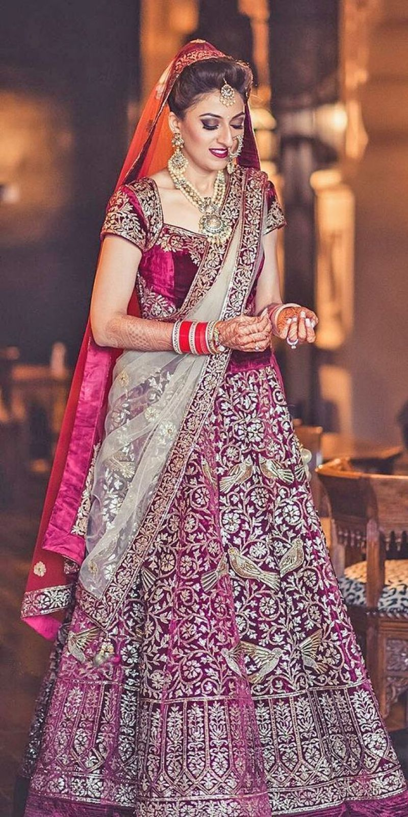 Stylish Indian Bridal Traditional Wedding Suits Trends For Yr 2019-2020