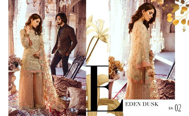 Stylish New Bridal Wear Collection by Emaan Adeel For Yr 2019