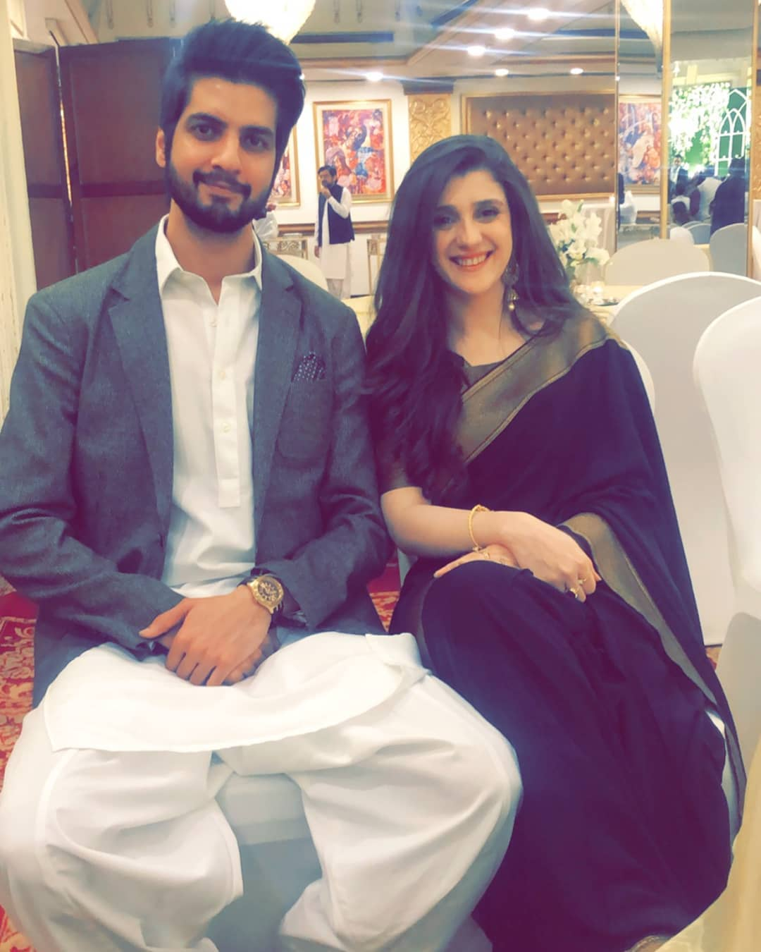 Newly Wed Singer Abdullah Qureshi with his Wife in Thailand
