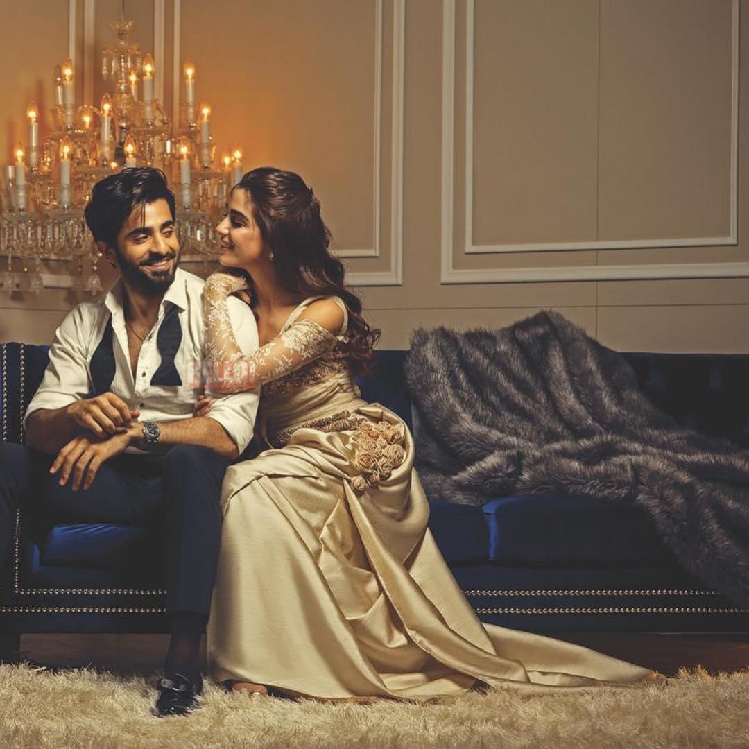New Photoshoot of Maya Ali and Shehryar Munawar for Hello Pakistan