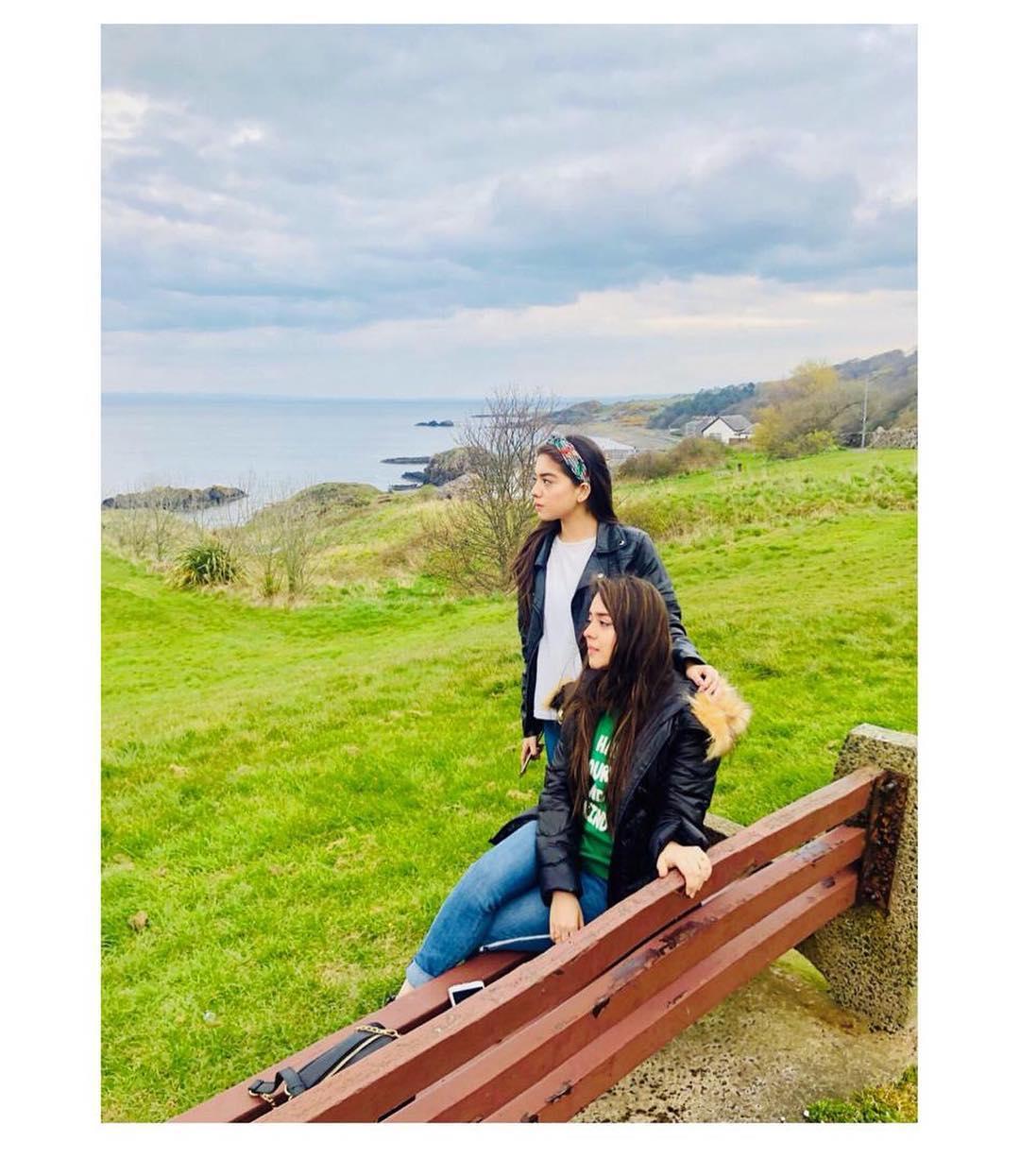 Awesome Sisters Arisha Razi and Sarah Razi in Galsgow UK