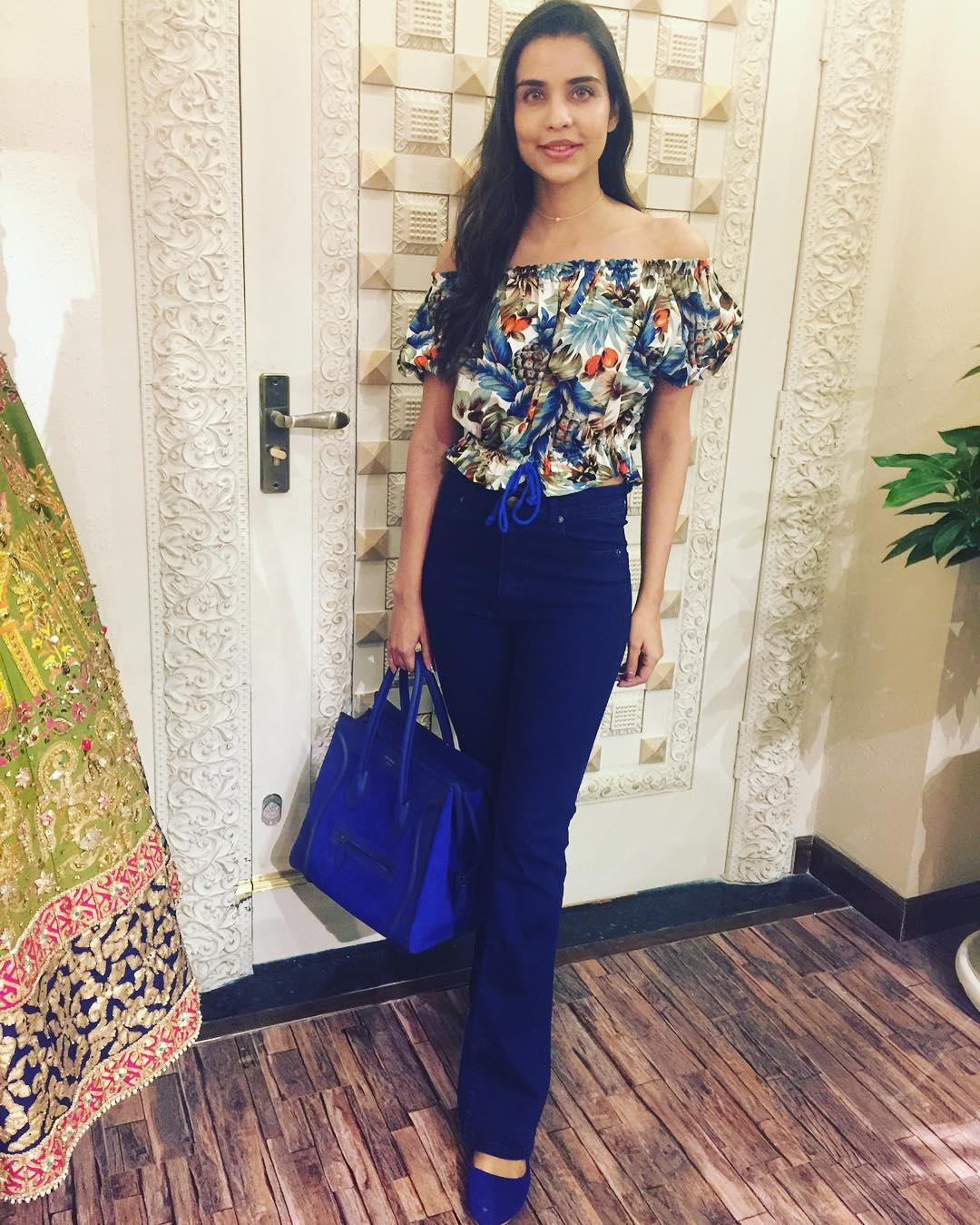 Model and Actress Sana Safraz at her Dream Engagement in Dubai