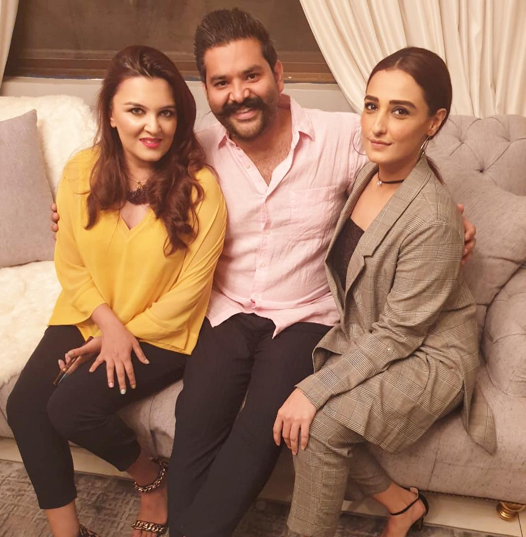 Celebrities at the Birthday Party of Momal Sheikh