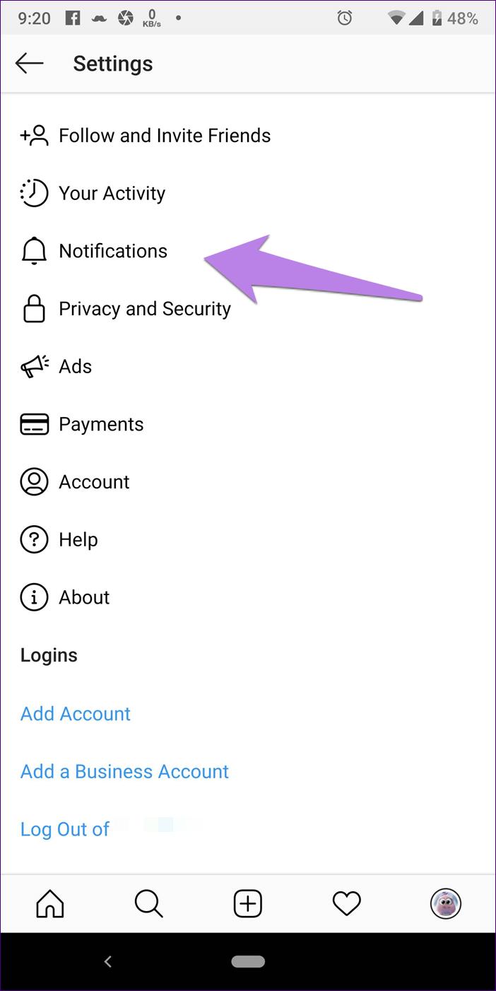 Instagram Notifications Not Working 5