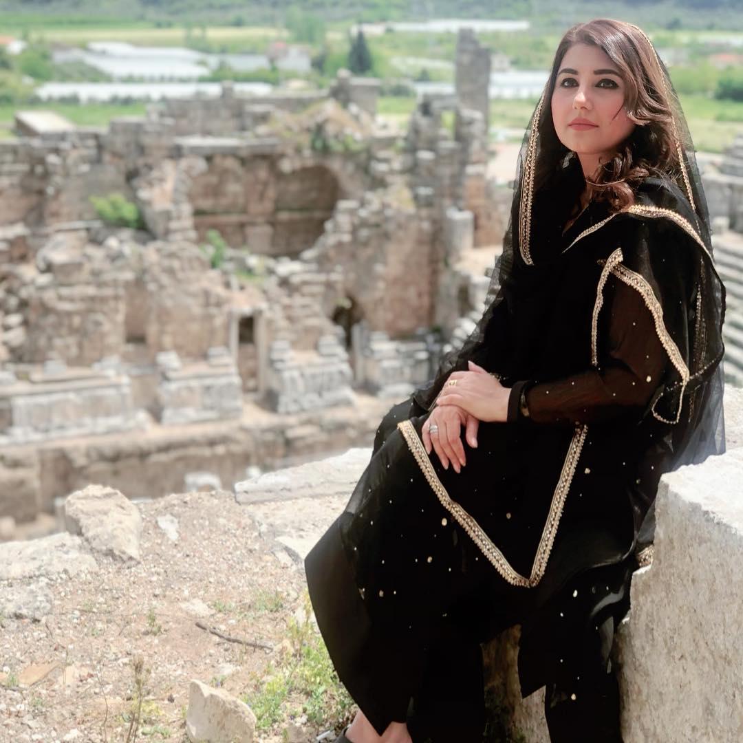 Javeria Saud and Imran Abbas Recording of Ramazan Transmission OST in Turkey