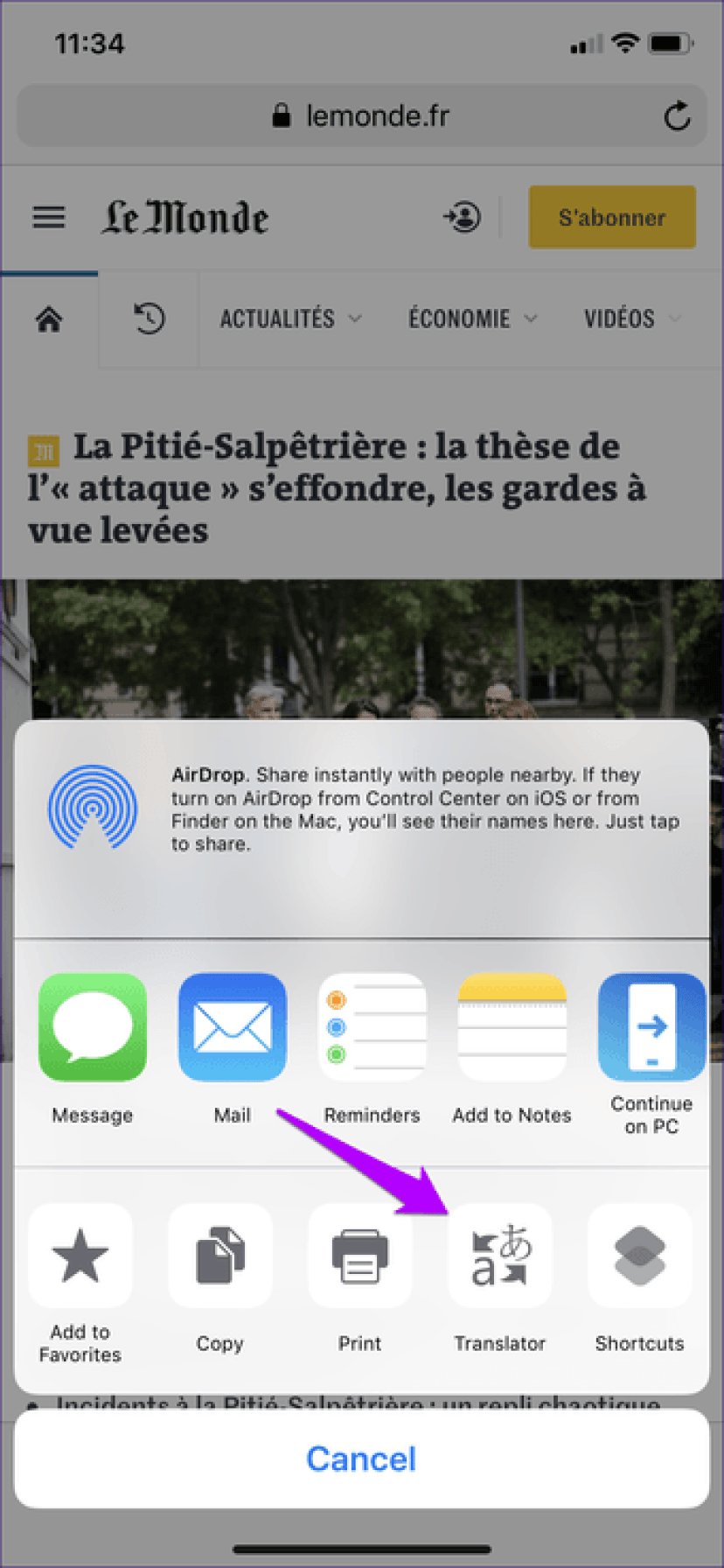 Iphone Ipad Translate Languages 6