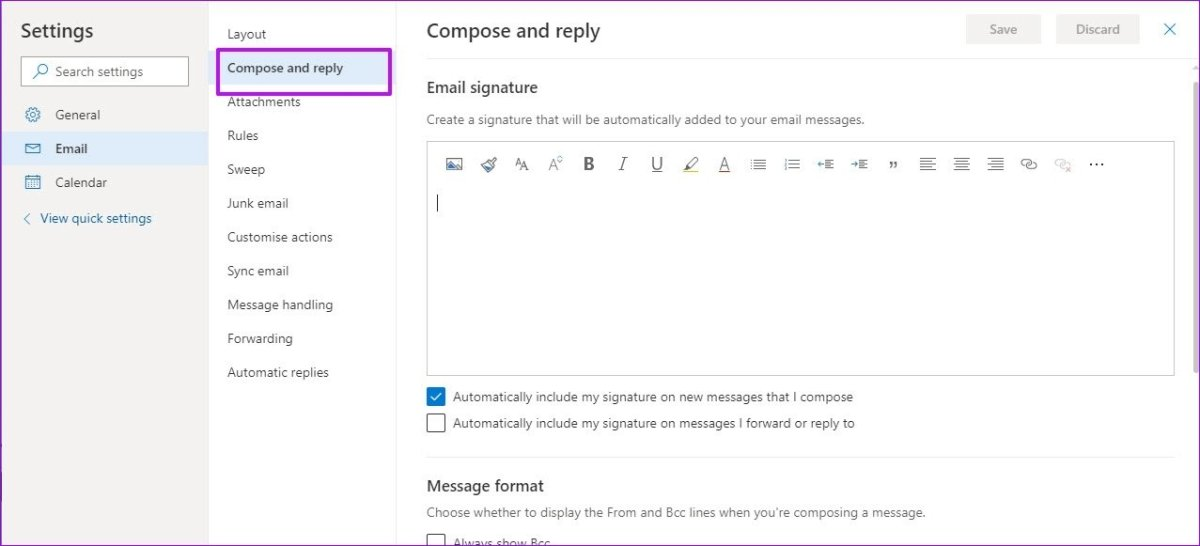 Here is How To Add Picture To Signature In Outlook Web App 2