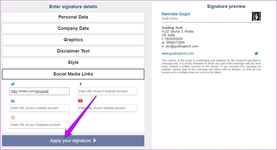 Here is How To Add Picture To Signature In Outlook Web App 12