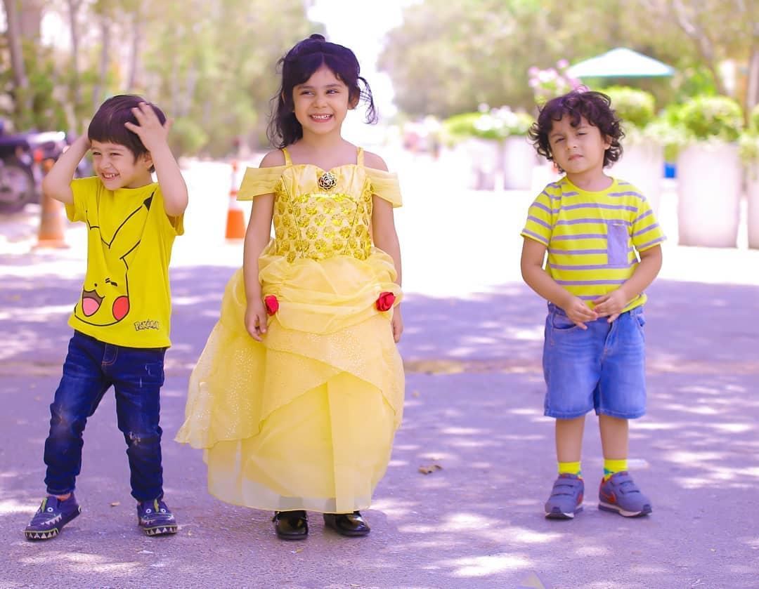 Ayeza and Danish's Daughters Hoorain Taimoor Birthday Party at her School