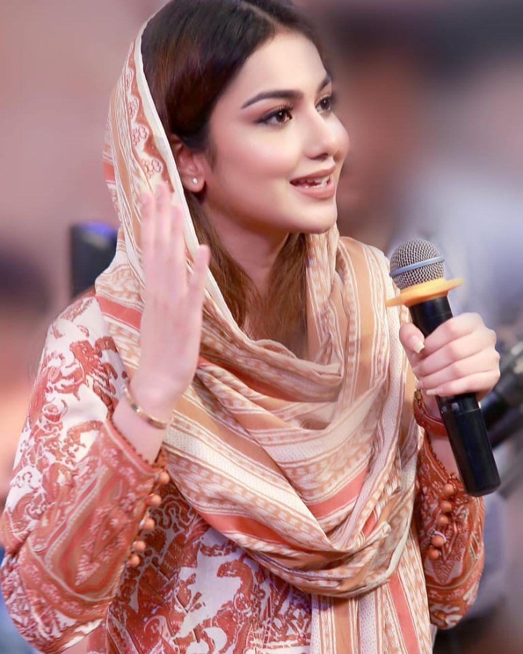 Awesome Photos of Syeda Tuba Amir in Todays PTV Ramzan Transmission