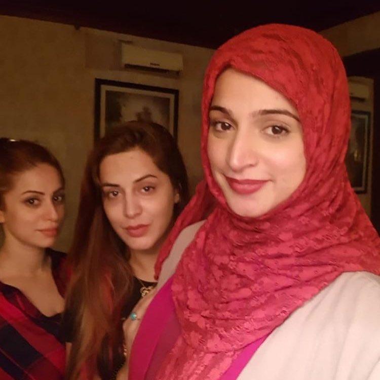 Noor at the Birthday of her Sister Faria Bukhari