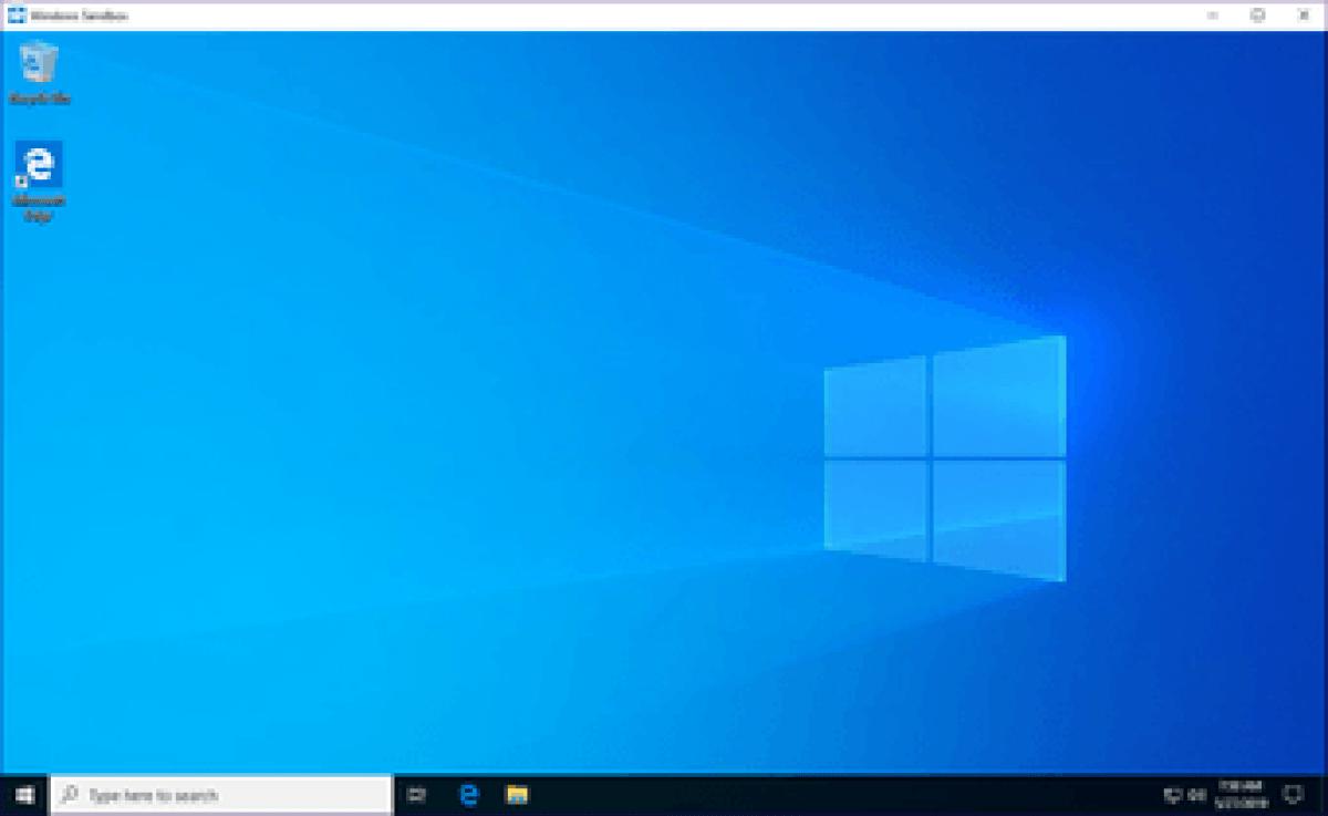 Windows Sandbox Missing Issue 9