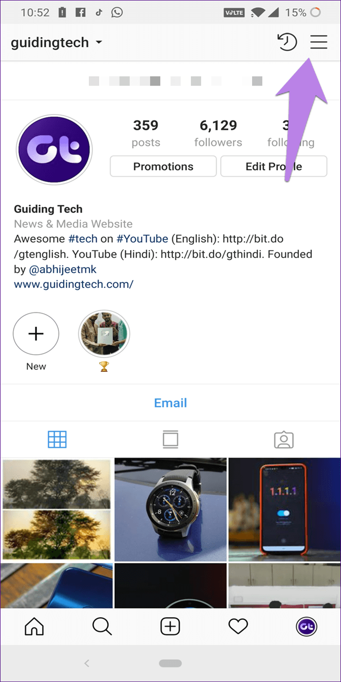 Instagram Notifications Not Working 1A