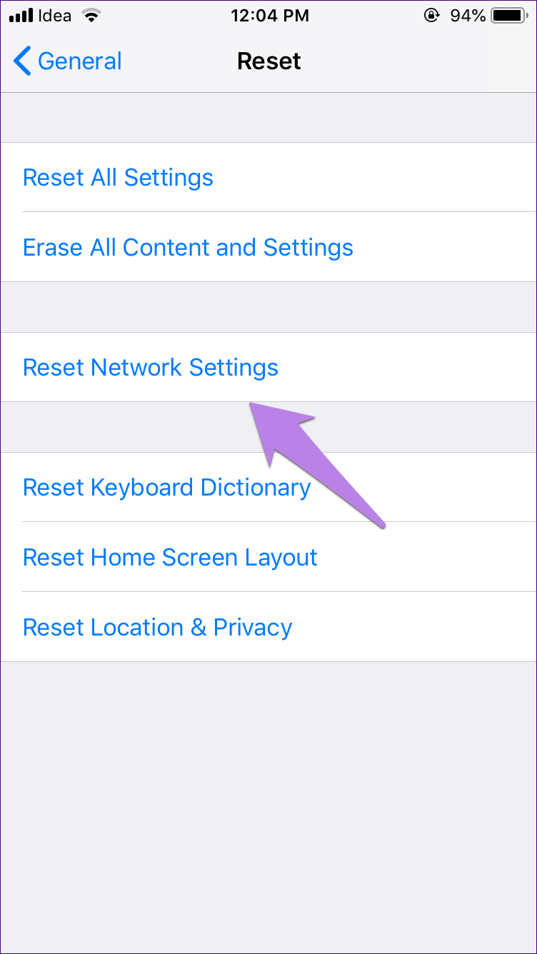 Reset Network Settings Android Ipad Iphone 12