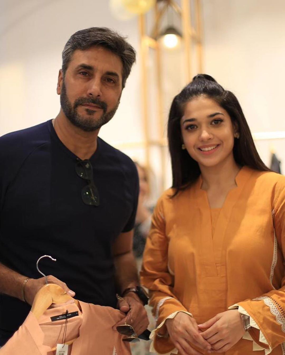 Celebrities at Sanam Jung's Sister Anum Jung New Store Launch