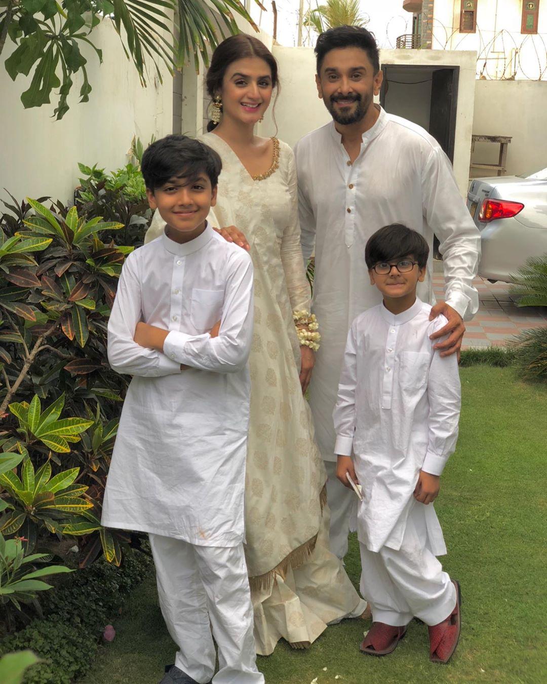 Kashf Star Hira Mani New All Black Photoshoot