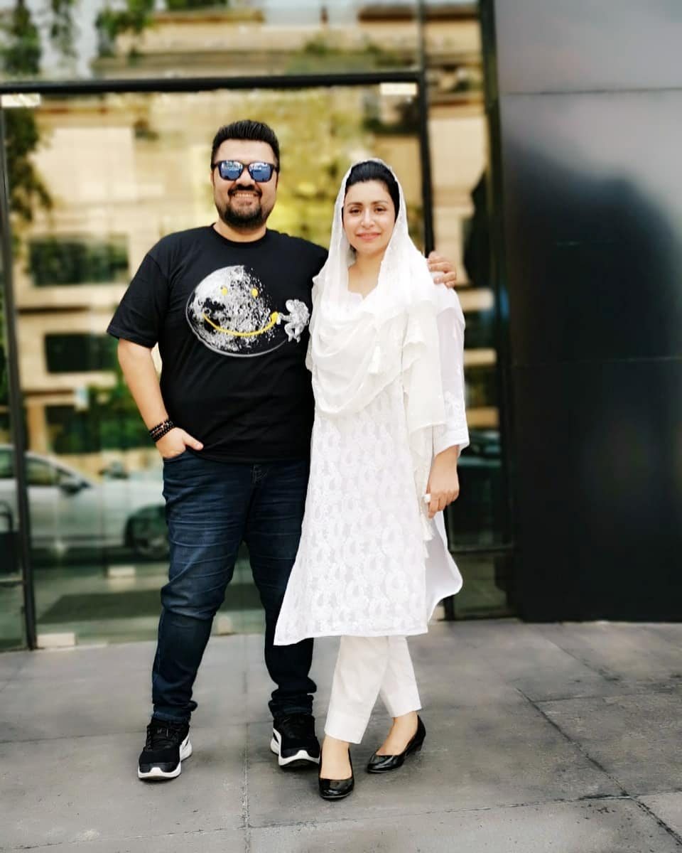 Awesome Photos of Ahmad Ali Butt with his Wife Fatima and Son Azaan