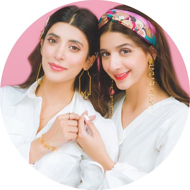 Mawra and Urwa Photoshoot for their Own New Brand UXM
