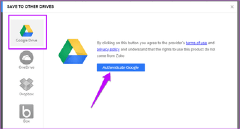 Here is How To Backup And Sync Zoho Docs 9