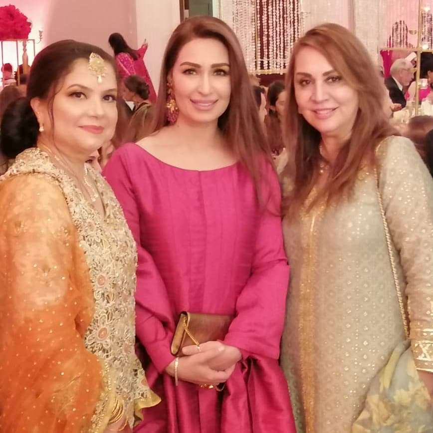 Reema Khan with Her Husband in a Recent Event