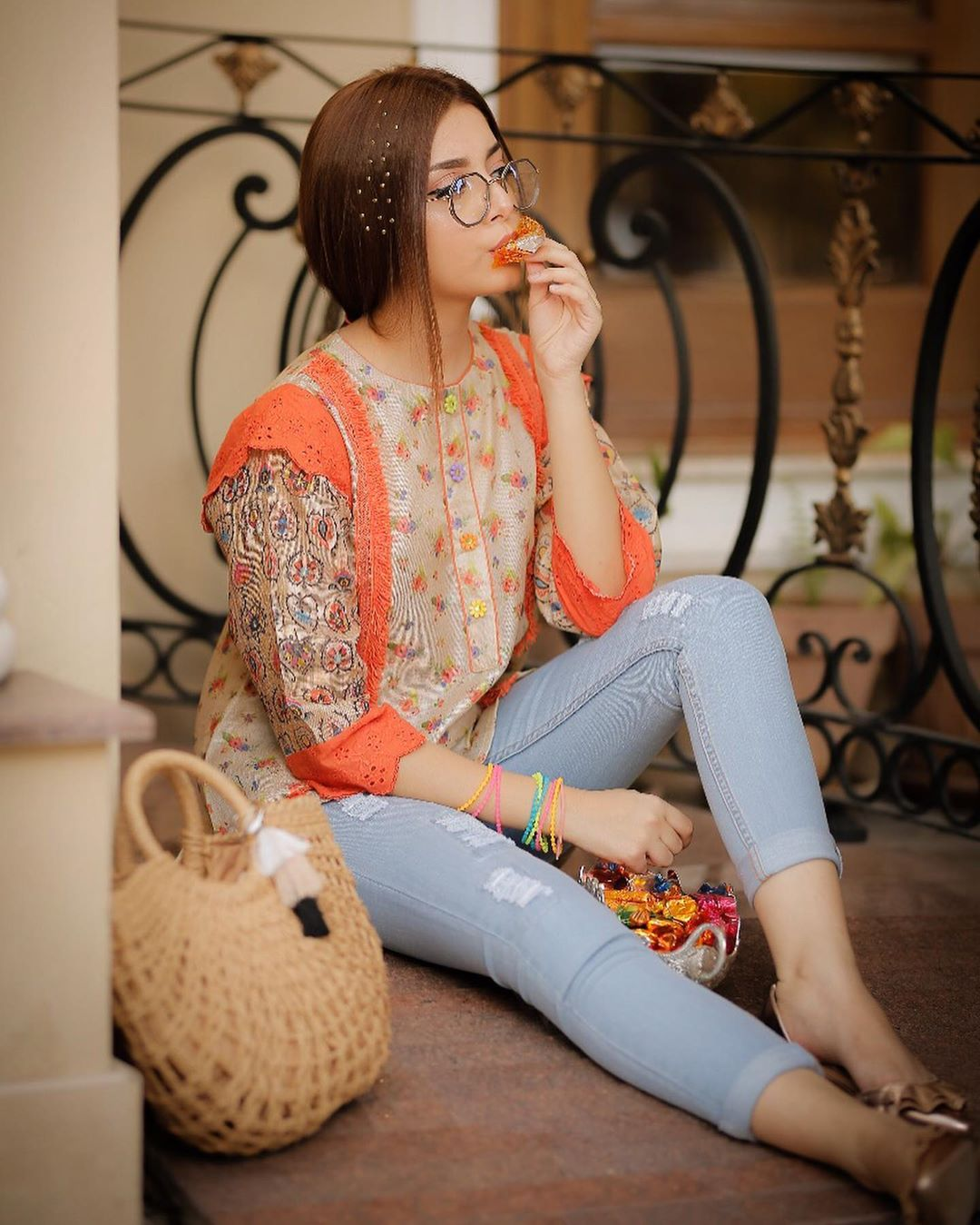 Beautiful Expressions of Alizeh Shah in Recent Clicks