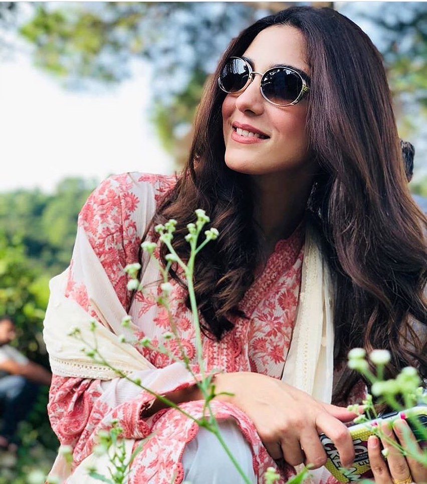 Maya Ali Spotted at Promotion of her Upcoming Movie Parey Hut Love