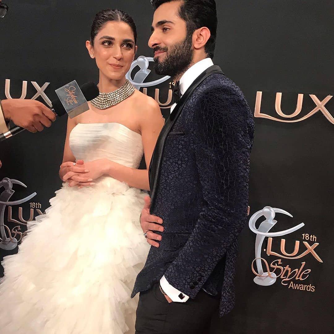 Lux Style Awards 2019 - Maya Ali and Sheheryar Munawar Clicks