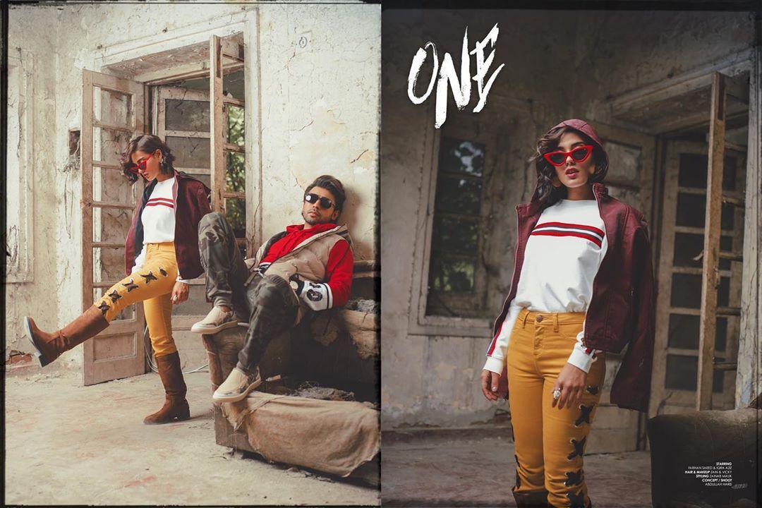 Iqra Aziz & Farhan Saeed Stunning Clicks in New Photoshoot