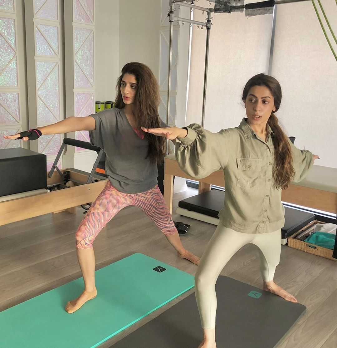 Mawra Hocane Spotted Doing Workout in Gym | Check Beautiful Clicks