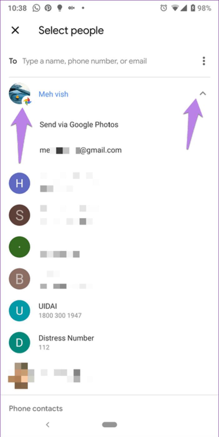 Google Photos Link Sharing Permission 2