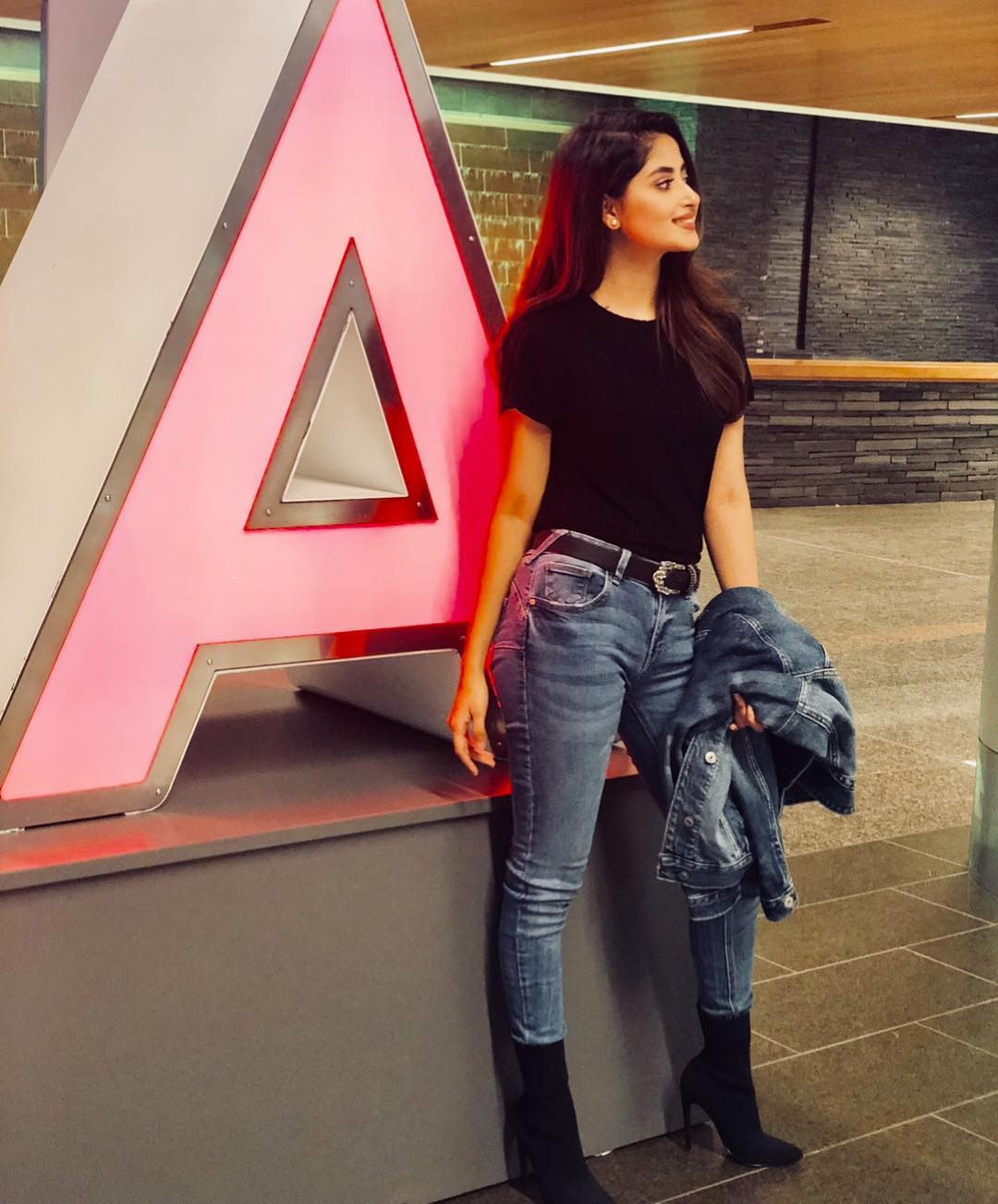 Lovely Sajal Aly Looking Beautiful in New Clicks