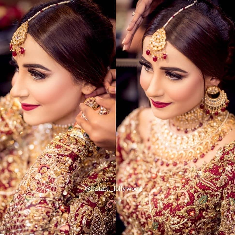 Saniya Shamshad Ready to Start New Life | Looking Gorgeous in Bridal Dress