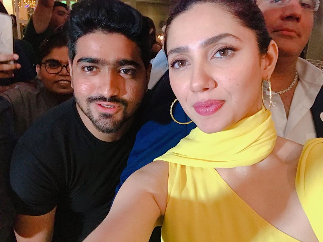 Promotion of Movie Superstar | Mahira Khan Spotted in Dubai