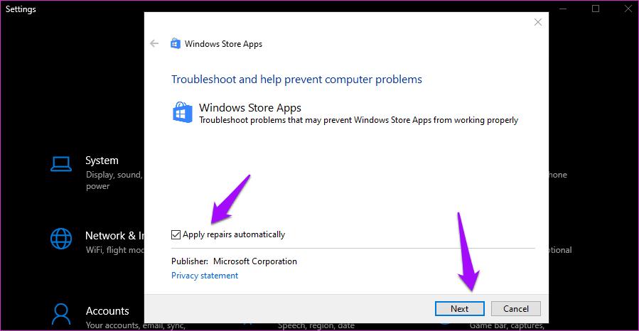 Fix Windows 10 Apps Missing From The Start Menu Error 7