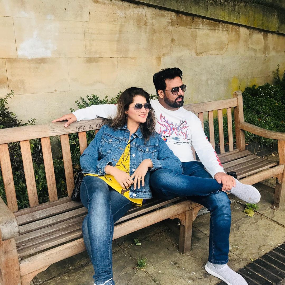 Famous Couple Jan Rambo & Sahiba Spotted in London