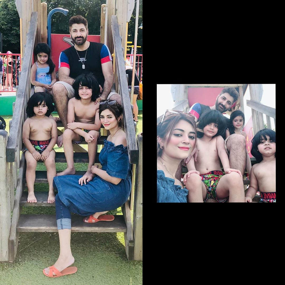 Famous Star Syed Jibran Spotted Enjoying with Family in England