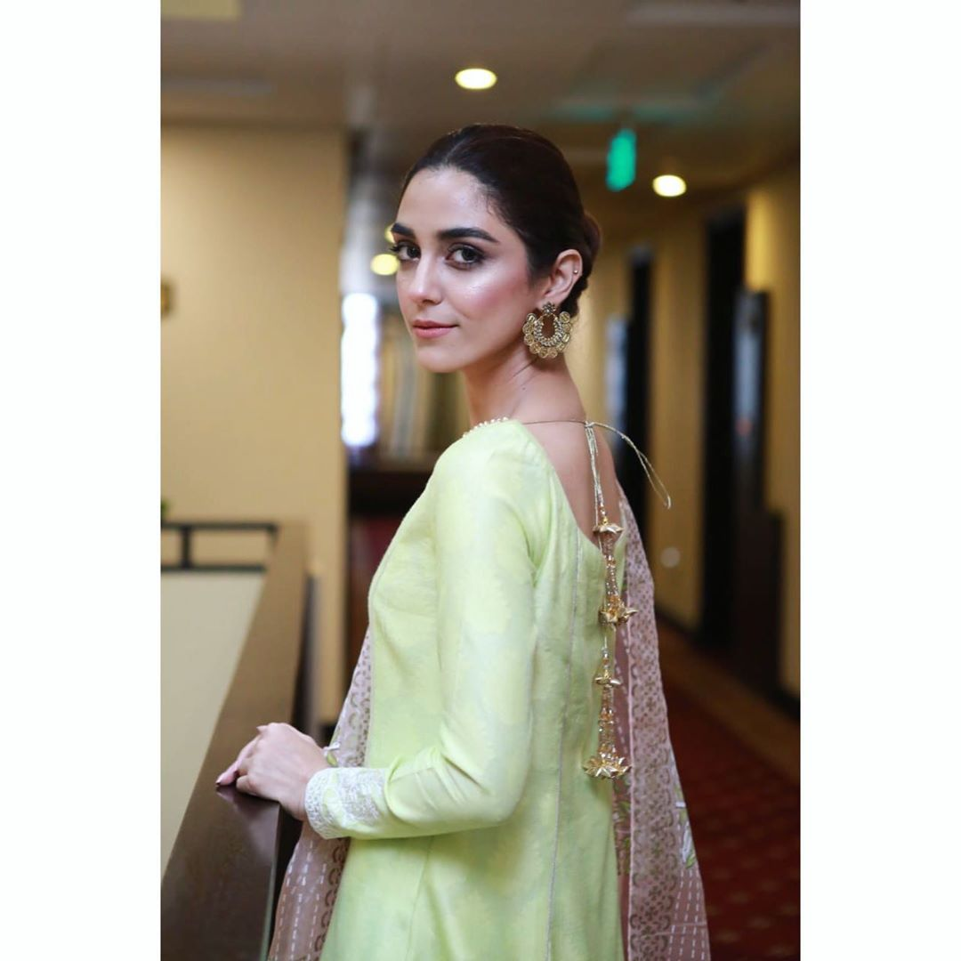 Actress Maya Ali Gorgeous Pictures During Film Promotions